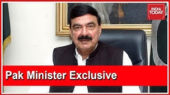 Rahul Kanwal Grills Pak Minister, Sheikh Rasheed Over Pulwama   India Today Exclusive Interview
