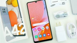 Samsung Galaxy A42 5G Unboxing, Hands On & First Impressions!