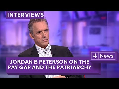 Jordan Peterson debate on the gender pay gap & campus protests