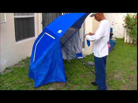 How to assemble sport brella & How to assemble sport brella - YouTube