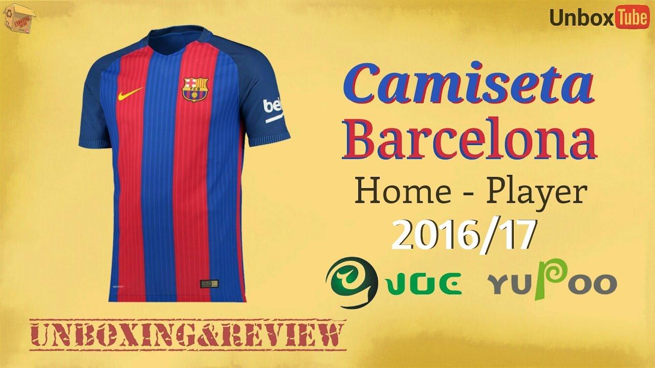 Camiseta FC Barcelona Home 2016 17(Réplica) - Catálogo YUPOO ... f3e3b90c249
