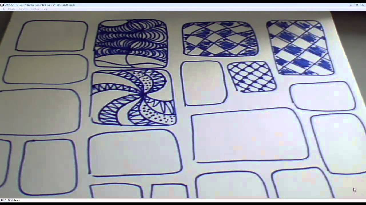 Classroom Design Patterns ~ Repeated patterns an easy art idea for the classroom