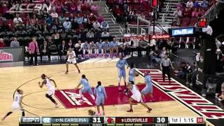 North Carolina vs Louisville | 2014-15 ACC Women's Basketball