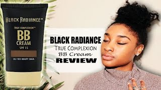 black radiance true complexion bb cream review   5 foundation routine  cassiekaygee