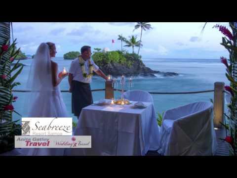 Wedding and Honeymoon resorts Samoa - review Anita Gatley