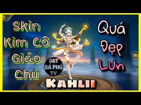 Liên quân Mobile   KAHLII mùa 10   Skin Kim Cô Giáo Chủ đẹp ghê ta!!!