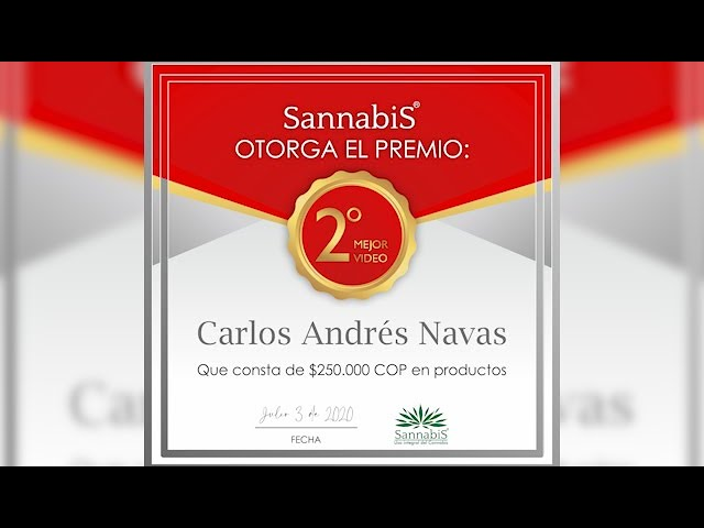 Testimonio Sannabis Carlos Navas