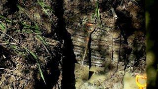 ML69 Раскопки немецкого и советского блиндажей WW2 German and Soviet bunkers excavations HD