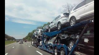 👑  San Jose Auto Transport | Watch Auto Carrier Load & Unload (2018)