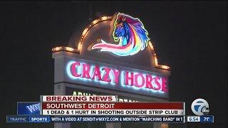 Fatal shooting outside Detroit strip club