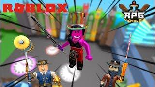 LA RAGE A L'ETAT BRUT ! Roblox RPG World
