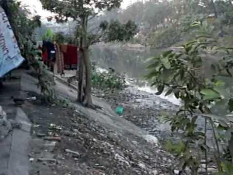 Very rough slum in Calcutta