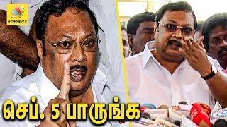Alagiri marks September 5 to threaten DMK Stalin