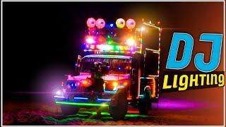 रातो का राजा - VIP Shree Dev Dj Sound | Dj Pickup Lighting Video | Night Dj Shooting | DJ Decoration