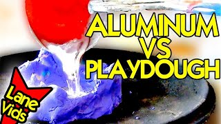 PLAYDOUGH VS MOLTEN ALUMINUM - Play Doh Videos(, 2016-08-02T14:00:01.000Z)