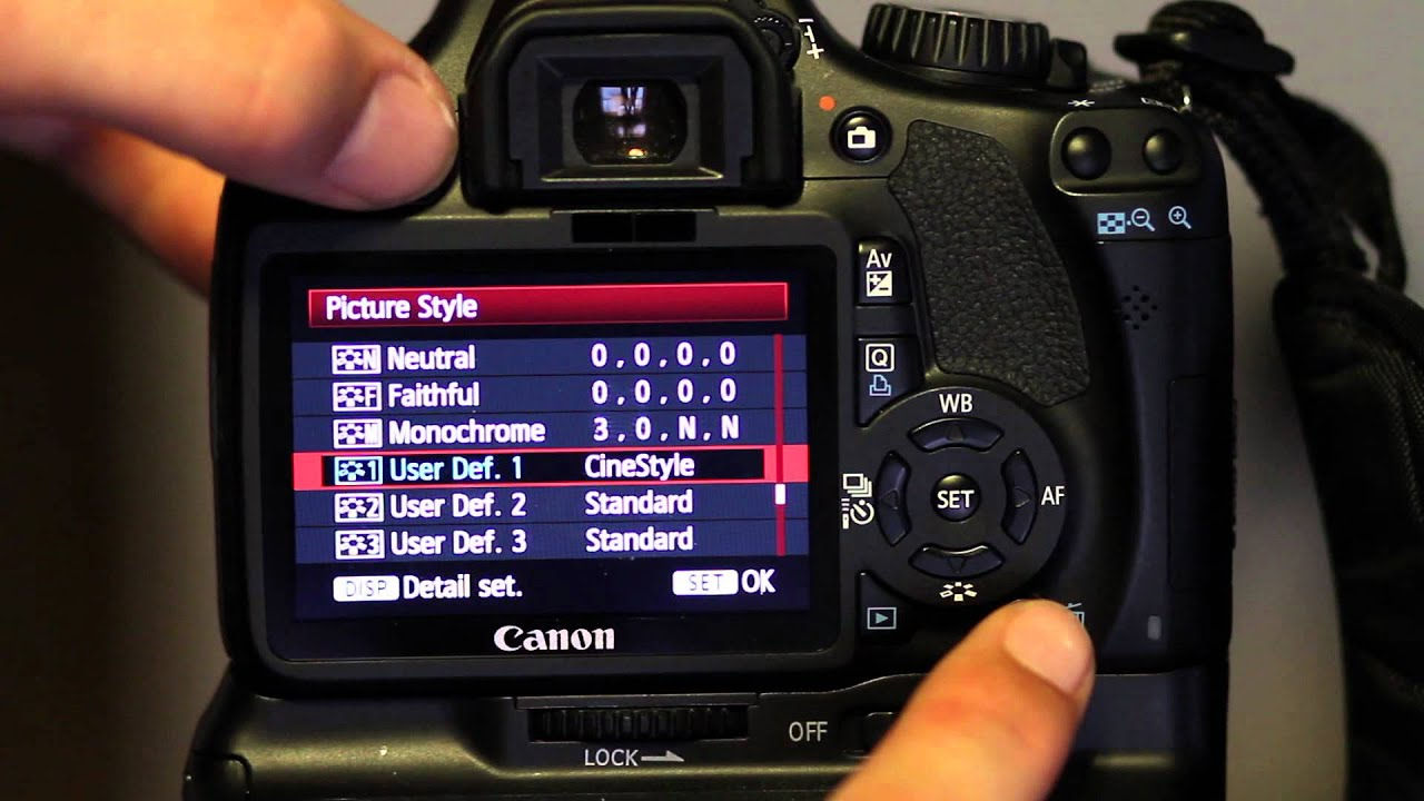 getting technicolor cinestyle to work on your t2i in video mode rh youtube com Canon T5 Canon T2i Accessories