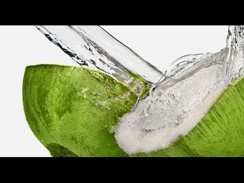 Agua de coco es buena para perder peso