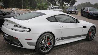 2015 Aston Martin V8 Vantage GT Start Up & Revs - Exhaust Sound