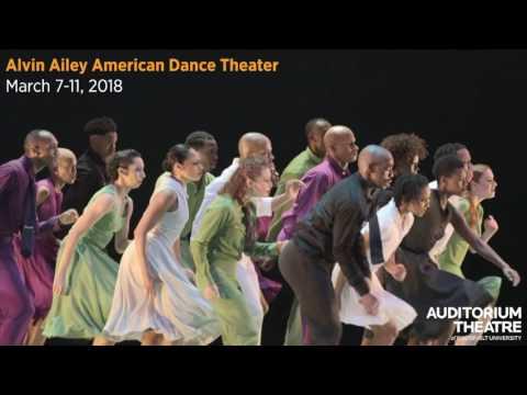 Alvin Ailey American Dance Theater | 2017-18 Season | Auditorium Theatre