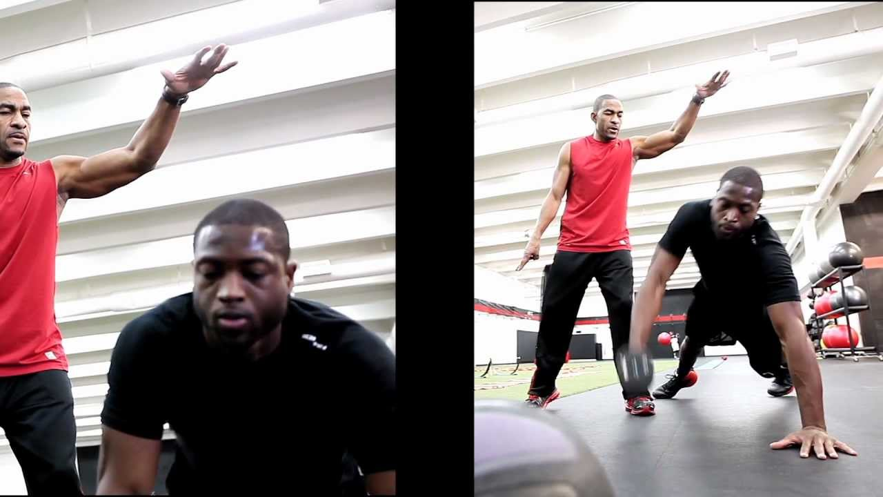 Ed Downs-Celebrity Fitness Trainer for Dwayne Wade - YouTube