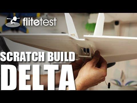Flite Test - Delta Wing - Scratch Build
