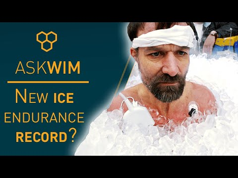 Iceman Guinness World Record broken. What does Wim Hof think? | #AskWim