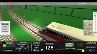 Roblox Terminal Railways ETR 460 Trenitalia Northwell to Linshire (via Rozlyn South)