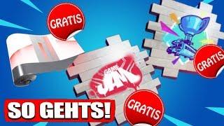 Fortnite - GRATIS LACKIERUNG + SPRAYS (Game Jam Hollywood EVENT)