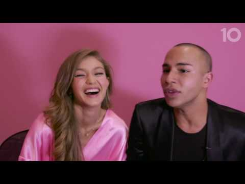 10TV Voices of the Angels: Starring Gigi Hadid And Olivier Rousteing
