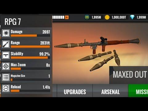 Sniper 3D RPG 7 MAX Level