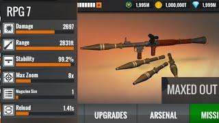 Sniper 3D RPG 7 MAX Level screenshot 4