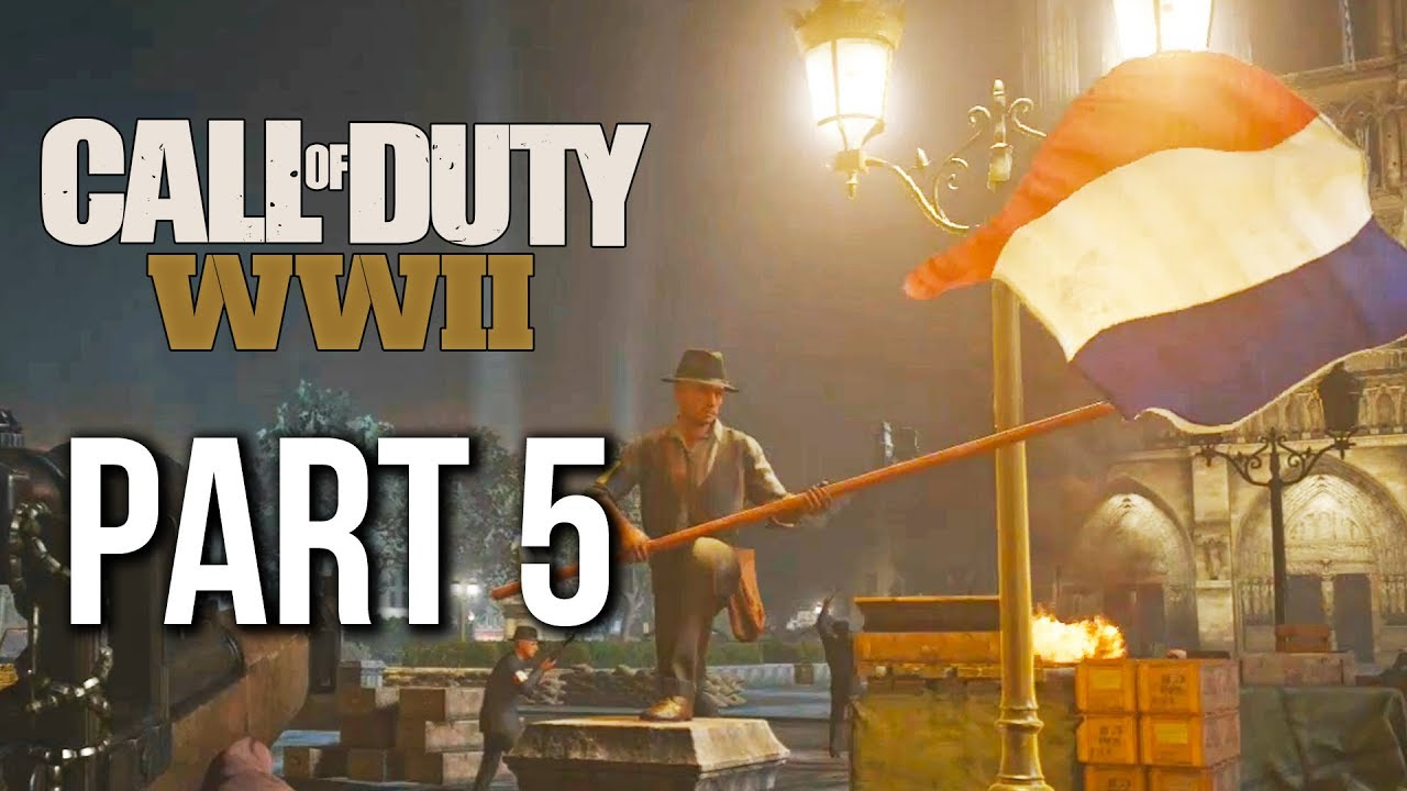 Download Call of Duty WW2 Gameplay Walkthrough Part 5 - LIBERATION (no commentary) CAMPAIGN