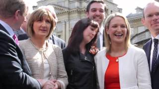 Deputy Helen Mc Entee: First Day In Dáil Éireann