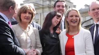Deputy Helen Mc Entee: First Day In Dáil Éireann