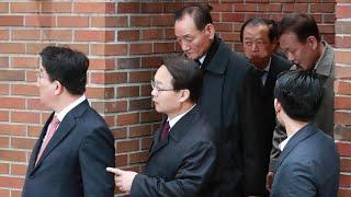 이명박 측근, 자택에 집결…착잡한 표정 '검찰 소환' 성토 / 연합뉴스TV (YonhapnewsTV)