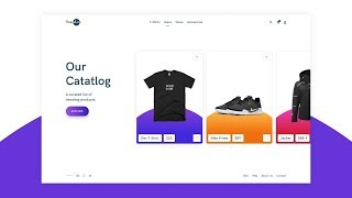 Design A Clothing Website Using Figma | Speed Art | Part 1/2