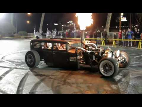 Welderup Burnout 2013 casino Parking lot
