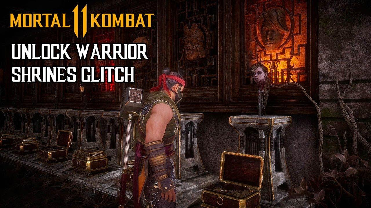 MORTAL KOMBAT 11 - How to instantly unlock Warrior Shrines (Glitch) @ 1080p  (60ᶠᵖˢ) ✔