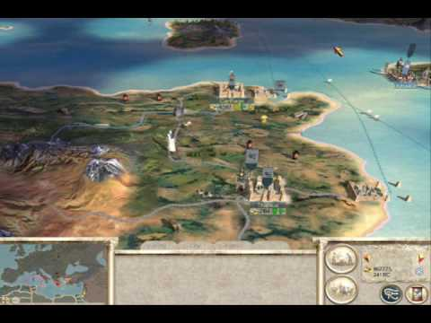 Rome Total War Numidian Campaign Strategy YouTube - Rome total war map city locations