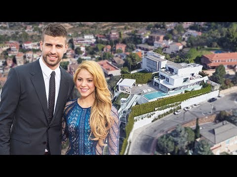 Gerard Pique & Shakira House in Barcelona (Interior & Exterior) Inside Tour | 2018 NEW
