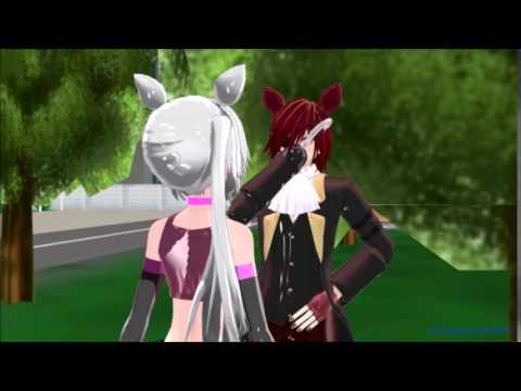 MMD X FNAF - Foxy's First Date Kiss