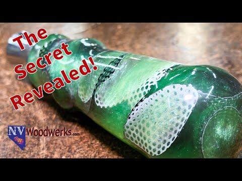 Resin and Mesh Handle Bottle Opener