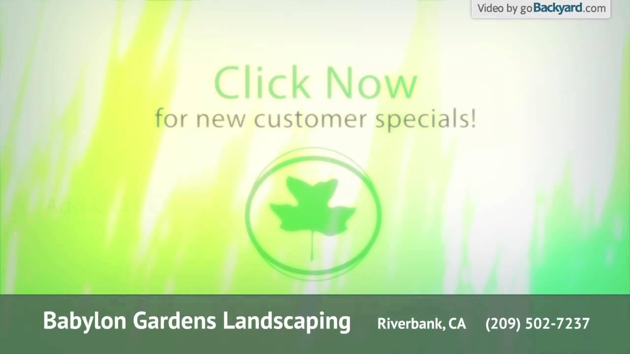 Babylon Gardens Landscaping   YouTube