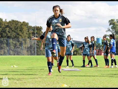 #SelecciónFemenina La Sub 17 inició un nuevo microciclo de entrenamiento