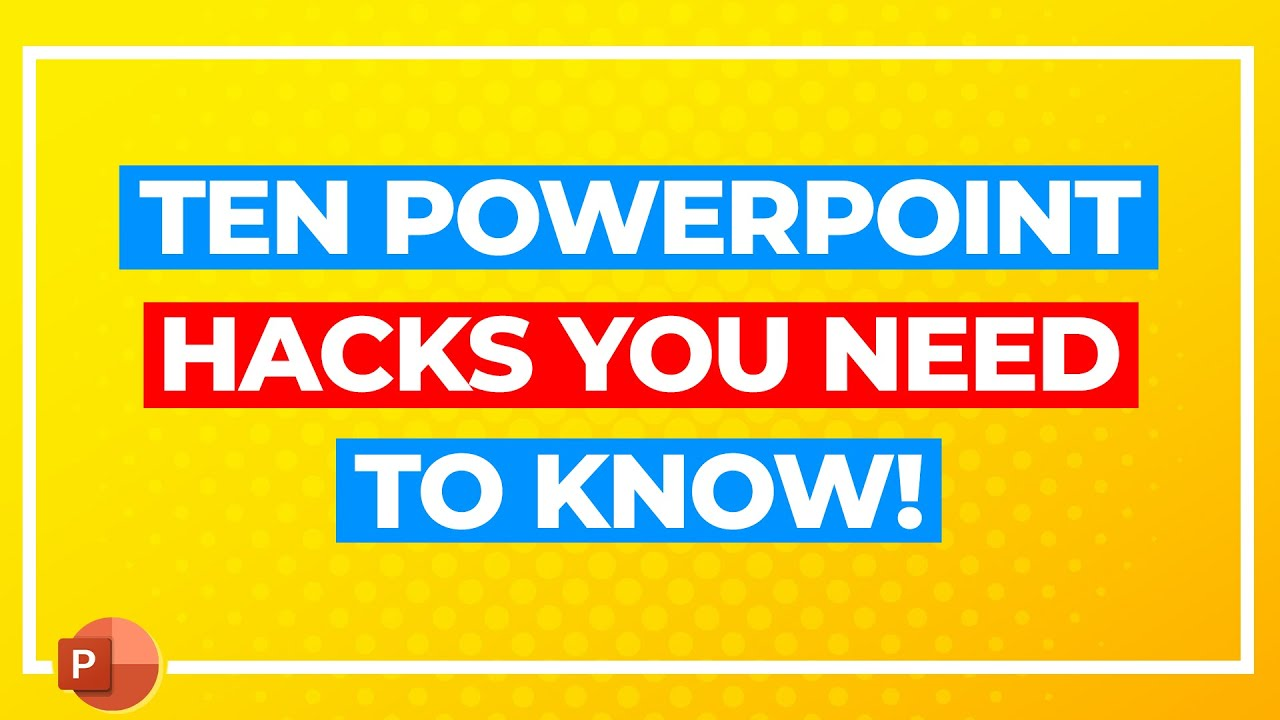 Ten Tips for Professional PowerPoint Presentations!