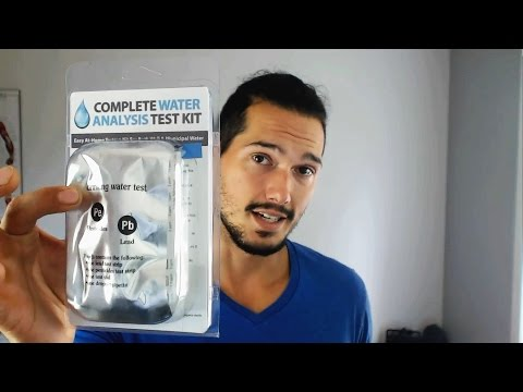 How To Test Drinking Water Quality, and Giveaway!