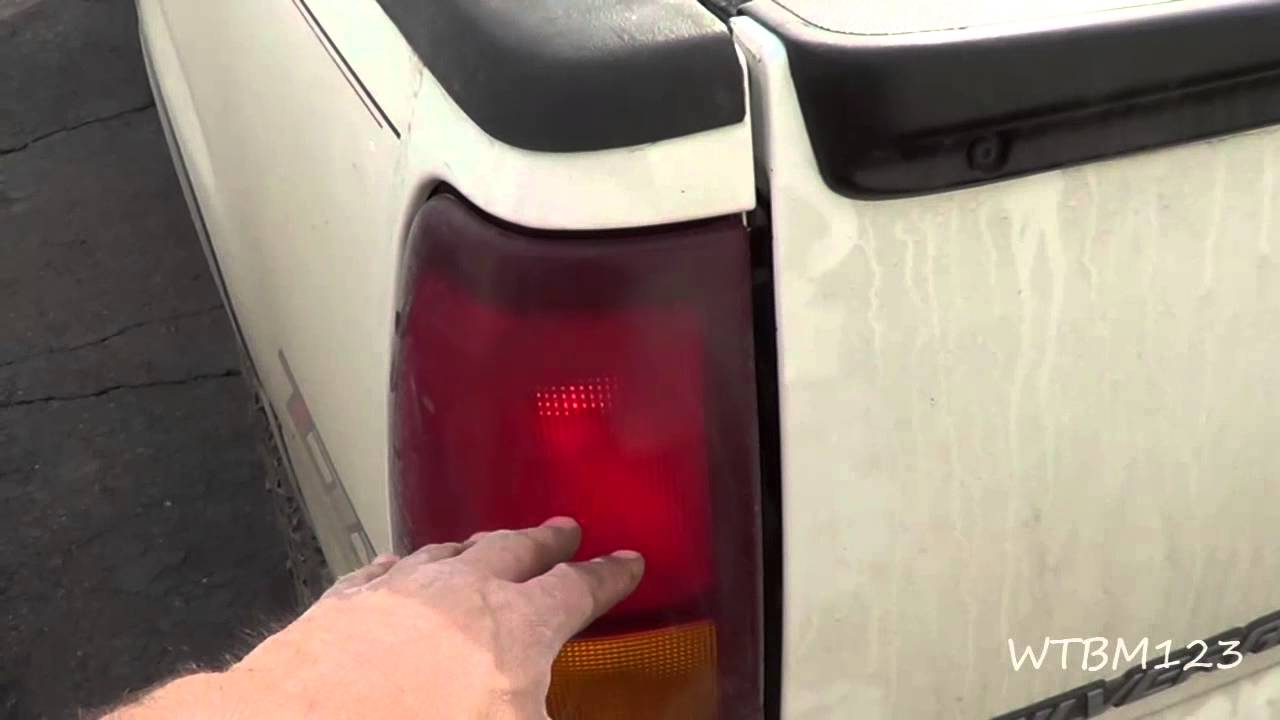 Chevy Truck  Tail Lights Stuck On   YouTube