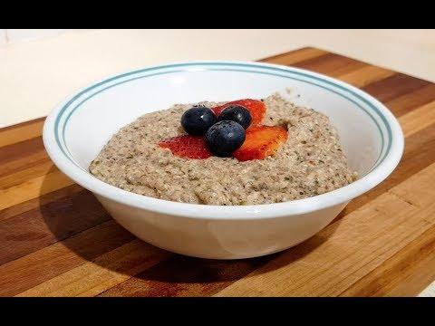 How to make Keto Grain-free Hemp Heart Porridge / Oatmeal