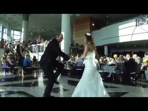 Stephanie's Dad surprises her during Father Daughter Dance