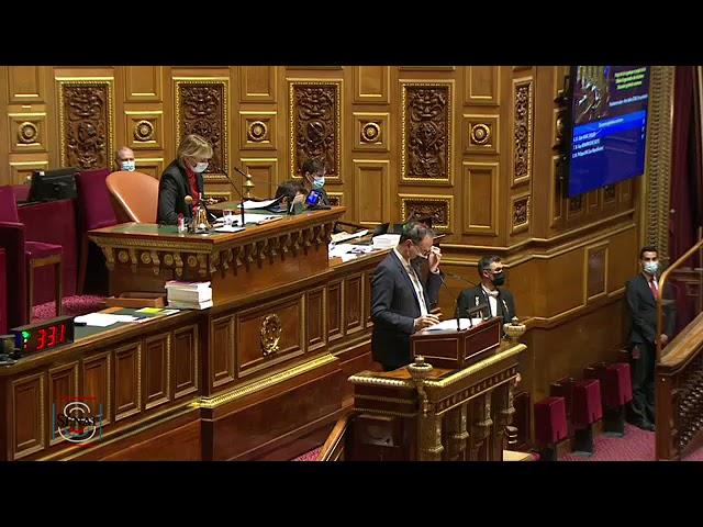 Alain Marc : Projets de loi sur l'extension du délai d'organisation des élections locales